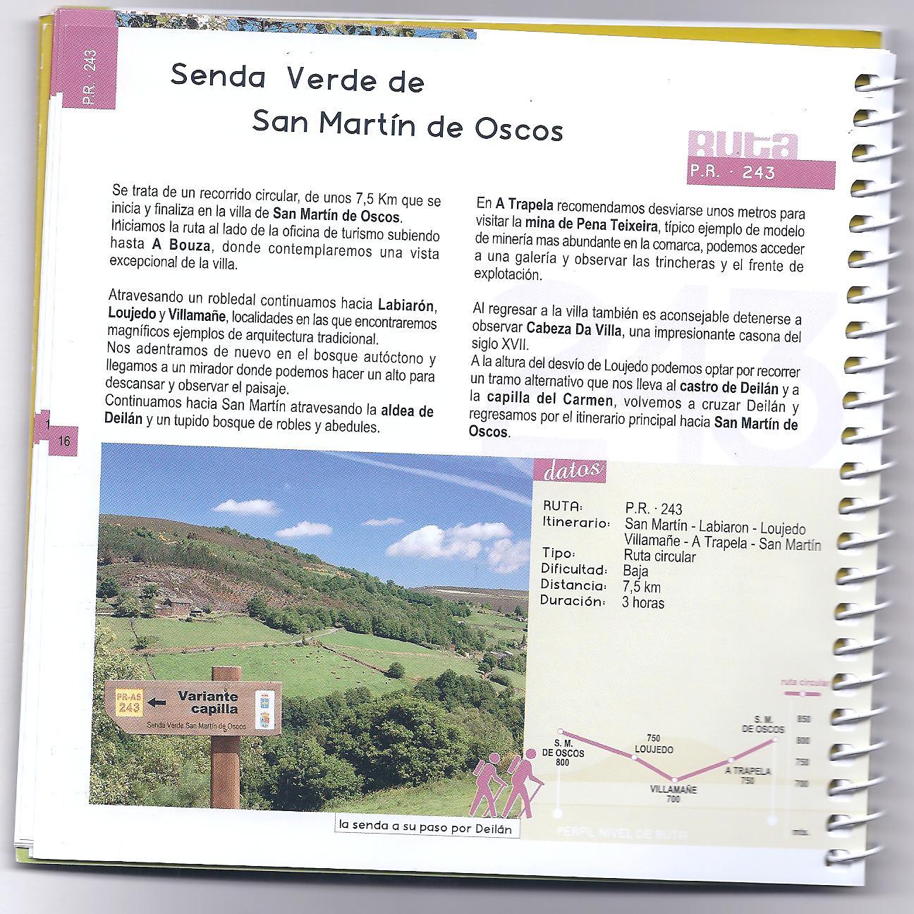 Senda Verde de San Martín de Oscos